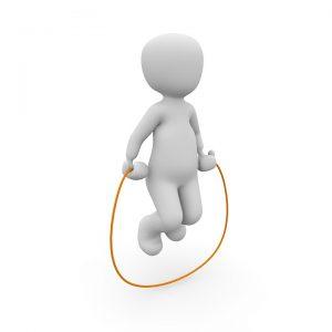Die Seilsprungstrategie für Optionsstrategien auf Trendaktien